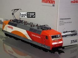 Marklin 37544 DB AG 120.1 ELECTRISCHE LOC MÄRKLIN MY WORLD 2012