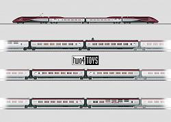 Marklin 37794-43424-43434-43444 THALYS PBKA COMPLETE TRAIN 2013