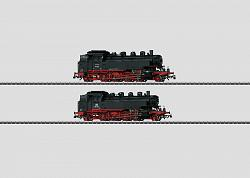 Marklin 37862 DB CLASS 86 SET OF TWO STEAM LOCOMOTIVES