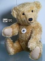 2019 Steiff 403361 TEDDY BEAR BLOND MOHAIR REPLICA 1910