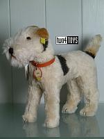 2019 Steiff 403378 FOX TERRIER DOG REPLICA 1937