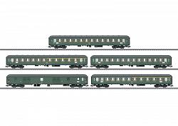 2017 Marklin 42918 DB EXPRESS TRAIN PASSENGER CAR SET FOR D 360