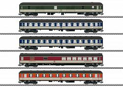 2021 Marklin 43917 DB POP DESIGN PASSENGER CAR SET