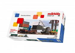 Marklin 44452 START-UP DB CONTAINER LOADING CAR SET