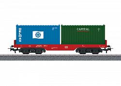 Marklin 44700 START-UP DB CONTAINER CAR DELMAS / CAPITAL