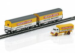 2021 Marklin 46172 DB HOLSTEN BEER REFRIGERATOR CAR SET