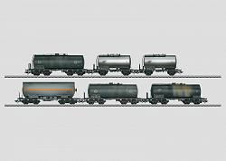 Marklin 46533 DB SET OF 6 WEATHERED TANK CARS