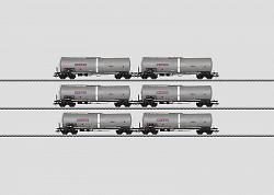 Marklin 46543 CZECH NACCO PETROLEUM OIL TANK CAR SET 2013