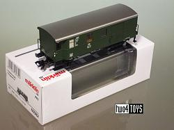 Marklin 46982 DB FREIGHT TRAIN BAGGAGE CAR INSIDER CLUB 2011