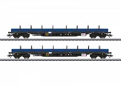 2017 Marklin 47027 NS DUTCH RAILPRO TYPE REGS LOW SIDE CAR SET