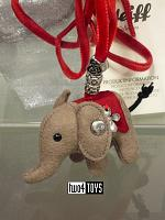 Steiff 605161 LITTLE WOOL FELT ELEPHANT NECKLACE 2017