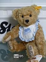 Steiff 662805 RICHARD STEIFF BIRTH TEDDY BEAR MOHAIR 2007