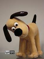 Steiff 663789 GROMIT THE DOG 40th ANN. AARDMAN UK ED.