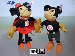 Steiff 676857-676864 JAPAN DISNEY MICKEY & MINNIE MOUSE 2007
