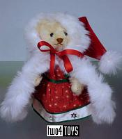 Steiff 676932 JAPAN LITTLE SANTA TEDDY BEAR CHRISTMAS 2008