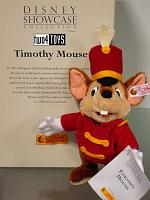 Steiff & Disney 680120 TIMOTHY MOUSE 2002 SHOWCASE COLLECTION