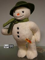 Steiff 690174 THE SNOWMAN ™ CUDDLY SOFT PLUSH LARGE SIZE 2017