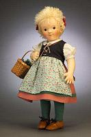 Steiff & R. John Wright 710230 KINDER SERIES FELT DOLL SOPHIE