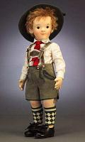 Steiff & R. John Wright 710254 KINDER SERIES FELT DOLL MATHIAS