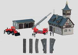 Marklin 78000 FIRE DEPARTMENT THEME EXTENSION SET
