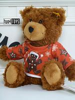 2020 Steiff 989193 TEDDY BEAR CHARLY WITH LEBKUCHEN XMAS SHIRT