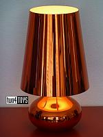 Kartell CINDY METALLIC TABLE LAMP RED FERRUCCIO LAVIANI