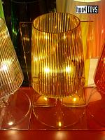 Kartell TAKE YELLOW TABLE LAMP DESIGN FERRUCCIO LAVIANI