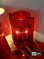 Kartell TAKE RED TABLE LAMP DESIGN FERRUCCIO LAVIANI