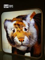 Steiff 000 PROMOTIONAL LIGHT BOX DISPLAY WITH RADJAH TIGER