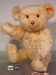 Steiff 004308 CLASSIC TEDDY BEAR LIGHT BLOND MOHAIR 2005