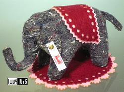 Steiff 006586 DESIGNER'S CHOICE ULI LITTLE ELEPHANT
