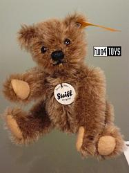 2016 Fall Steiff 009167 CLASSIC 1950 MINIATURE TEDDY BEAR