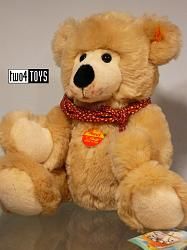 Steiff 013607 TEDDY BEAR HAPPY ORIGINAL SOFT PLUSH 2002