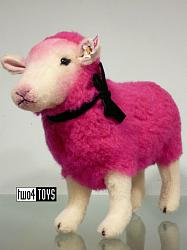 Steiff 021282 DESIGNER'S CHOICE PINKY WOOL SHEEP