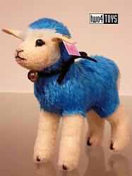 Steiff 021626 DESIGNER'S CHOICE CANDY BLUE SHEEP