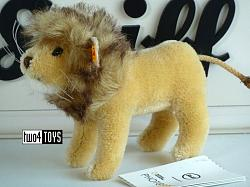 2020 Steiff 026669 NATIONAL GEOGRAPHIC LION IN GIFT BOX