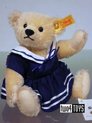 Steiff 027192 AMY SAILOR TEDDY BEAR BLOND MOHAIR 2011