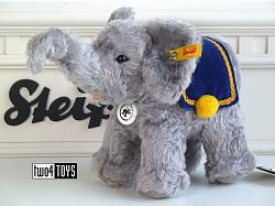 2020 Steiff 031083 ELEPHANT GREY MOHAIR 140 YEARS