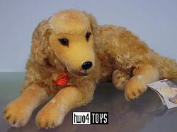 Steiff 031687 HASSO GOLDEN RETRIEVER DOG 2002