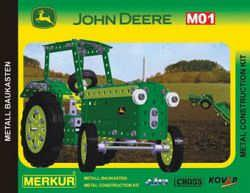 Merkur 03338 JOHN DEERE TRACTOR METAL CONSTRUCTION SET