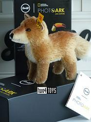 2020 Steiff 033544 NATIONAL GEOGRAPHIC FOX IN GIFT BOX