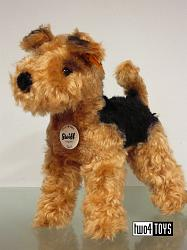 Steiff 033735 TERRI WELSH TERRIER DOG MOHAIR