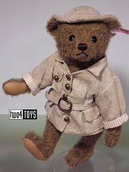 Steiff 034985 LIVINGSTONE TEDDY BEAR 2013