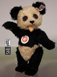 Steiff 035005 75TH ANNIVERSARY PANDA BEAR
