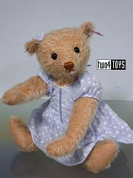 Steiff 035135 ALISSA / ALICE TEDDY BEAR HONEY MOHAIR 2014