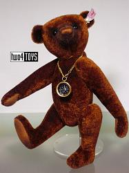Steiff 035166 NANDO THE RUSSET TEDDY BEAR
