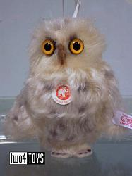 Steiff 035296 OWL ORNAMENT ENCHANTED FOREST 2012