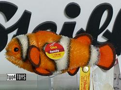 Steiff 035586 OKO CLOWN FISH MOHAIR 2004