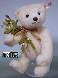 Steiff 036859 MISTLETOE TEDDY BEAR