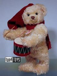 Steiff 037368 CHRISTMAS TEDDY BEAR LITTLE DRUMMER BOY 2007